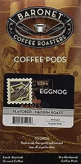 Baronet Coffee Egg Nog Coffee Pods, 54 Count