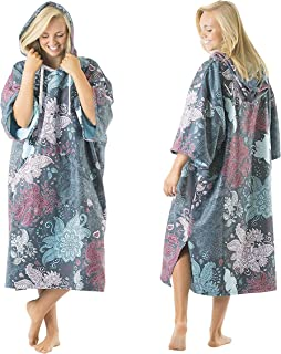 comprar comparacion Vivida Lifestyle, Poncho Towel with Hood for Changing, Quick Dry Fabric and Easy Access to Underarms, Large Pocket, for Th...