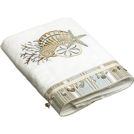 Avanti Linens Pine Creek Embroidered Bath Towel