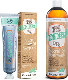 greensations coconut oil toothpaste