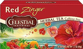 Celestial Seasonings Herbal Tea, Red Zinger, 20 Count