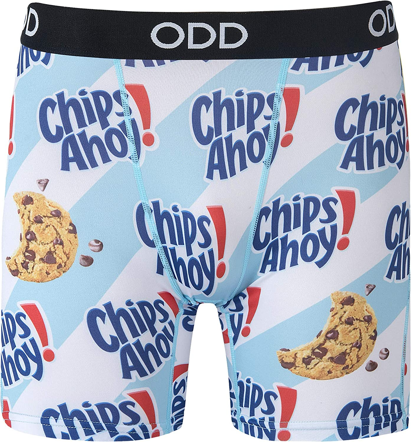 Odd Sox Men's Graphic Print Novelty Boxer Ahoy Coo Briefs Chips Great interest supreme