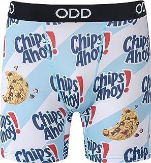 Mens, Graphic Boxer Briefs, Food Snacks, Funny Novelty Underwear