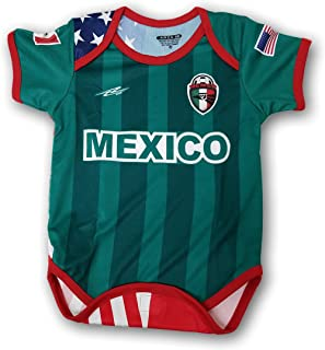 Mexico USA Proud Orgullo Baby Onepice Jumpsuit Mameluco Romper