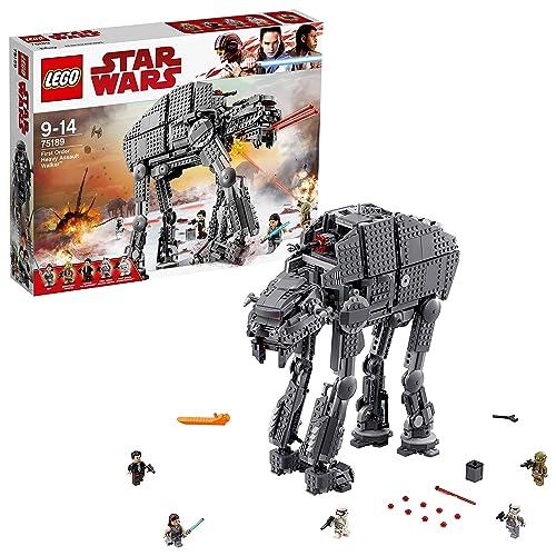 LEGO Star Wars - First Order Heavy Assault Walker - 75189 - Jeu de Construction