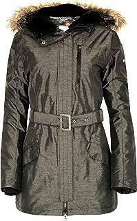 Columbia Beverly Mountain II Women's Winter Omni Heat Ski Jacket $200 Grey