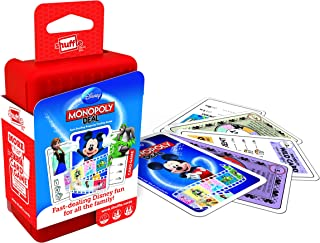 Crown & Andrews Current Edition Shuffle Card Game Disney Monopoly Board Game