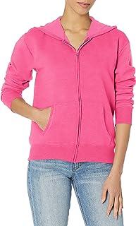 Hanes Women's EcoSmart Full-Zip Hoodie Sweatshirt