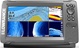 HOOK2 9 - 9-inch Fish Finder with TripleShot Transducer and US Inland Lake Maps Installed