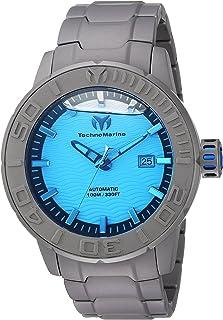 TechnoMarineメンズ' Reef '自動チタンCasual Watch, Color :グレー(モデル: tm-516002)