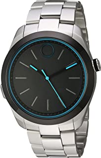 Swiss Quartz Stainless Steel Smart Watch, Color: Silver-Toned (Model: 3660003)