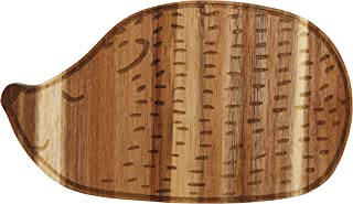Bloomingville Acacia Wood Hedgehog Cutting Board, Brown