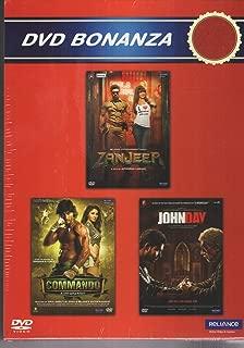 Zanjeer /Commando / John Day (3 in1 Dvd)