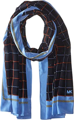 MICHAEL Michael Kors - Multi Dressage Oblong Scarf