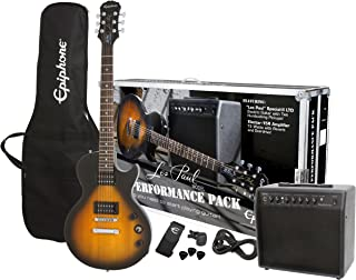 Epiphone Guitar Player Pack Series 15 Watt Electric Guitar Pack - Vintage Sunburst