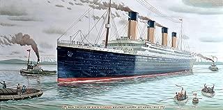 1/4 Sheet - The Titanic Birthday - Edible Cake/Cupcake Party Topper!!!