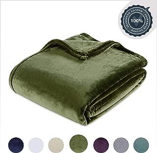 Berkshire Blanket Luxury Plush VelvetLoft Bed Blanket, King, Burnt Olive