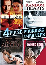 4 Pulse-Pounding Thrillers: (Under Suspicion / Random Hearts / Against All Odds / Jagged Edge)