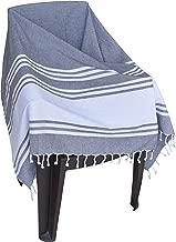 Light & Pro 2Pack Turkish Peshtemal Towels Pestemal Towel Thin Camping Bath Sauna Beach Gym Pool Blanket Fouta Towels 100% Cotton-36x70- Charcoal