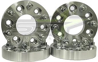 6X127 2pcs 2 Inch Wheel Adapters CHANGE 6X5.5 to 6X5 OR 6X135 to 6X5 Rim