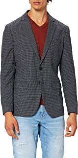 Scotch & Soda Men's Single-Breasted Classic Blazer Contains Recycled Polyester