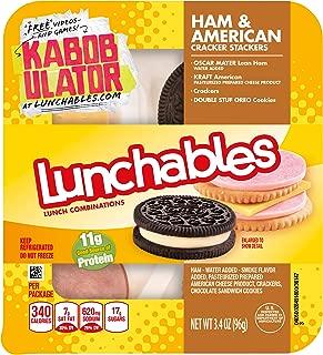Kraft Oscar Mayer Ham American Cracker Stacker Lunchable, 3.4 oz