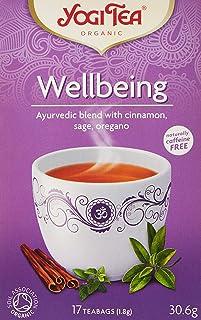 YOGI TEA - Wellbeing , 17 Pieces, 30.6 gm