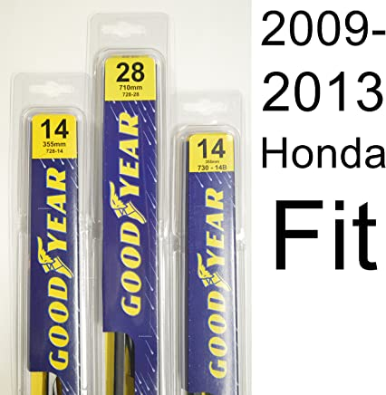 Honda Fit (2009-2013) Wiper Blade Kit - Set Includes 28
