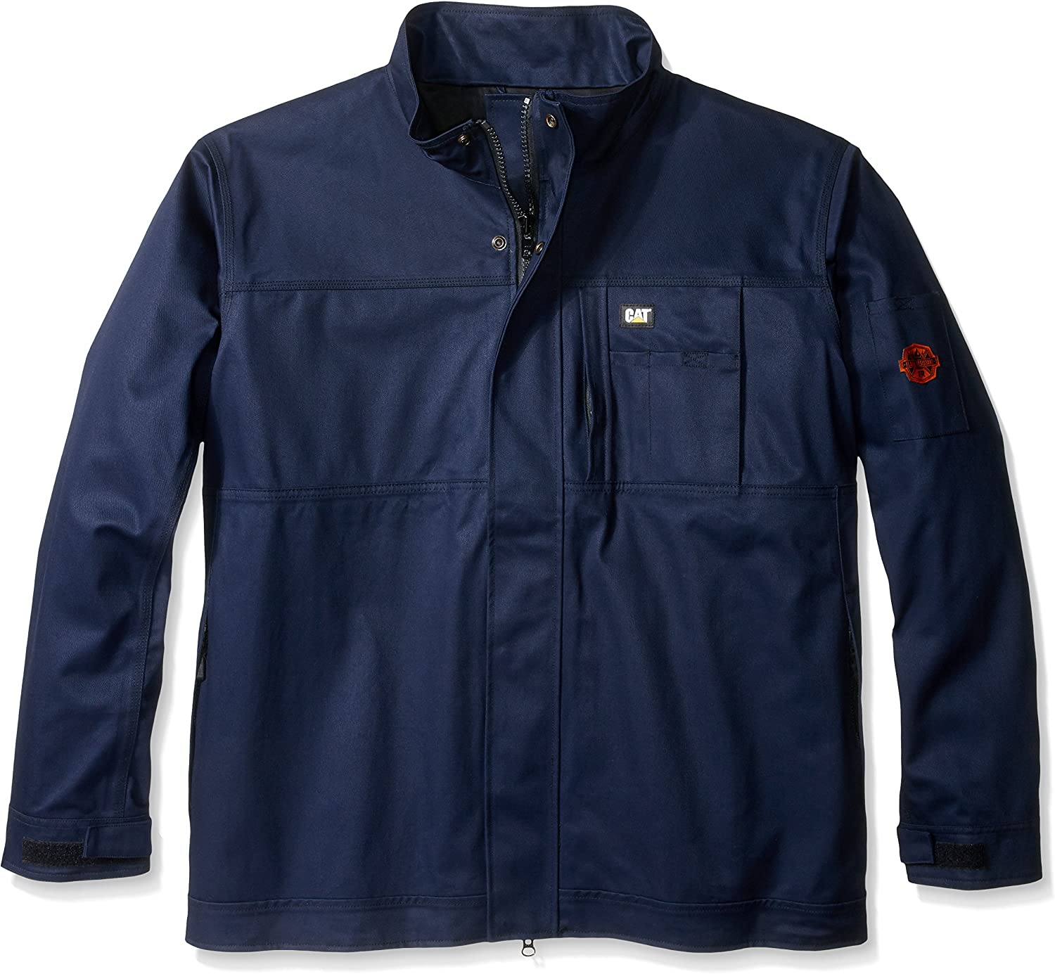 Caterpillar Men's Big and Tall Flame Resistant Uninsulated Jacket