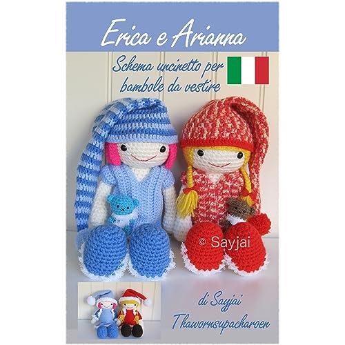bambole schema gratis amigurumi crochet tutorial uncinetto | 500x500