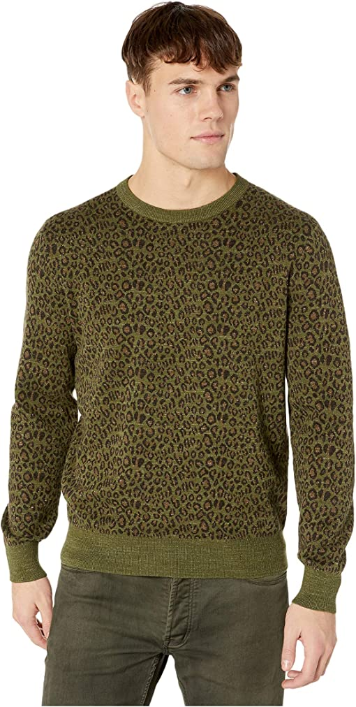 Camo Leopard Heather Moss