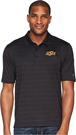 Oklahoma State Cowboys Textured Solid Polo