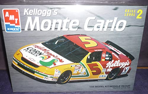 8187 AMT Ertl Terry Labonte  5 Kellogg's Monte Carlo 1 25 Scale Plastic Model Kit,Needs Assembly by The ERTL Company