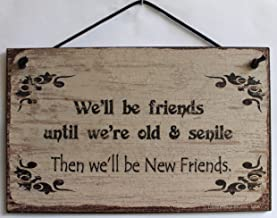 5x8 Vintage Style Sign Saying,