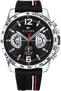 Tommy Hilfiger Womens Quartz Watch, Analog Display and Stainless Steel Strap 1791473