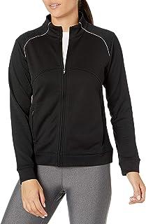 Cutter & Buck Women's CB Drytec Edge Full Zip, Black, X-Small