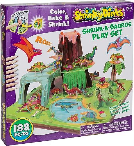 mas barato Shrinky Dinks Dinks Dinks Shrink a Saurus Play Set  barato y de alta calidad