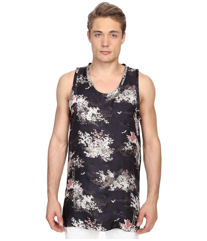 [マーク ジェイコブス] Marc Jacobs メンズ Mellow Meadow Oversize Silk Tank Top トップス Navy Multi SM [並行輸入品]