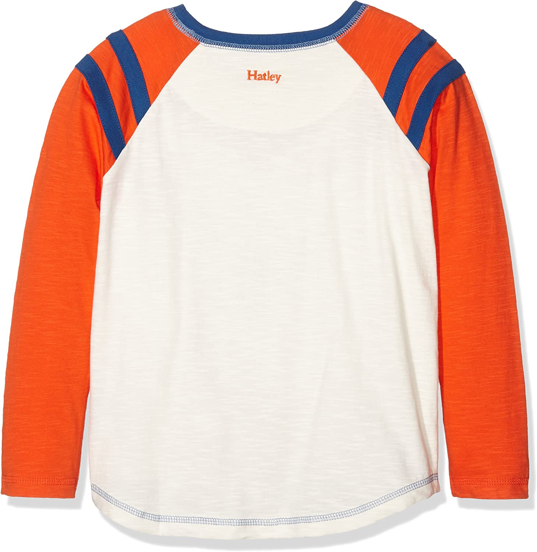 Hatley Long Sleeve Tees Longsleeve T-Shirt Top /à Manches Longues B/éb/é gar/çon