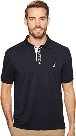 Nautica - Short Sleeve Performance Logo Polo