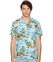 Levi's® Premium - Premium Short Sleeve Linen Hawaiian Shirt