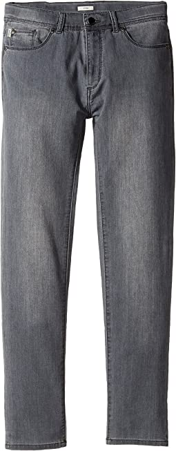 Paul Smith Junior - Fleece Denim in Grey (Big Kids)