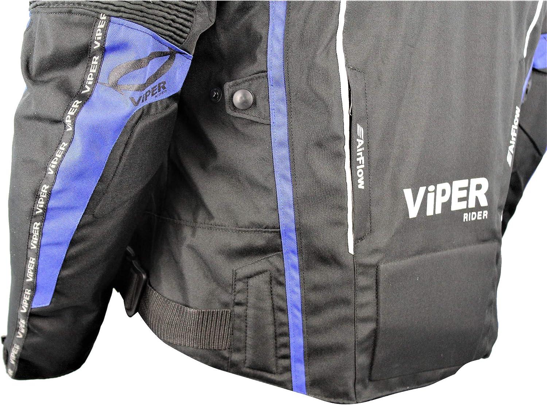 Chaqueta de Moto Viper Axis 2.0 Hombre Chaqueta Textil DE Motocicleta Adulto Nuevo 2020 Motocicleta Scooter Biker Rider Impermeable Deportes Carreras Touring Chaqueta t/érmica aprobada por la CE