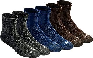 Dickies mens Dri-tech Moisture Control Quarter Socks Multipack