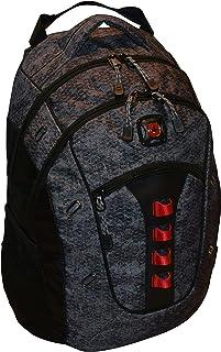 "Wenger SwissGear Granite 16"" Laptop Backpack Travel School Bag Black-Geo"