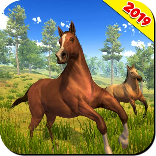 Wild Horse Family Simulator Game