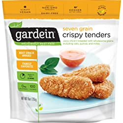 Gardein Seven Grain Crispy Tenders, Meatless Protein Packed Strips, Ready in 8 Minutes, 9 Ounces (Fr