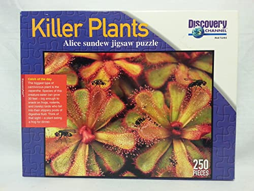 Discovery Channel Killer Plants - Alice Sundew 250 Piece Puzzle