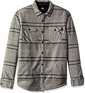 O'NEILL Men's Flannel Long Sleeve Woven Casual Button Down Shirt
