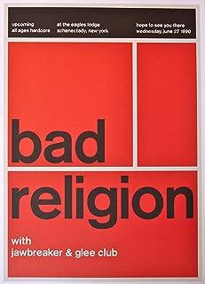 bad religion concert poster